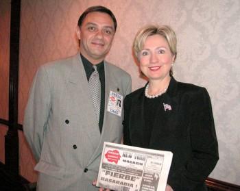 "Grig Hillary 2 350x279 Grigore Culian, fondator si editor New York Magazin: ""Le spun americanilor ca vin din cea mai frumoasa tara din lume"""